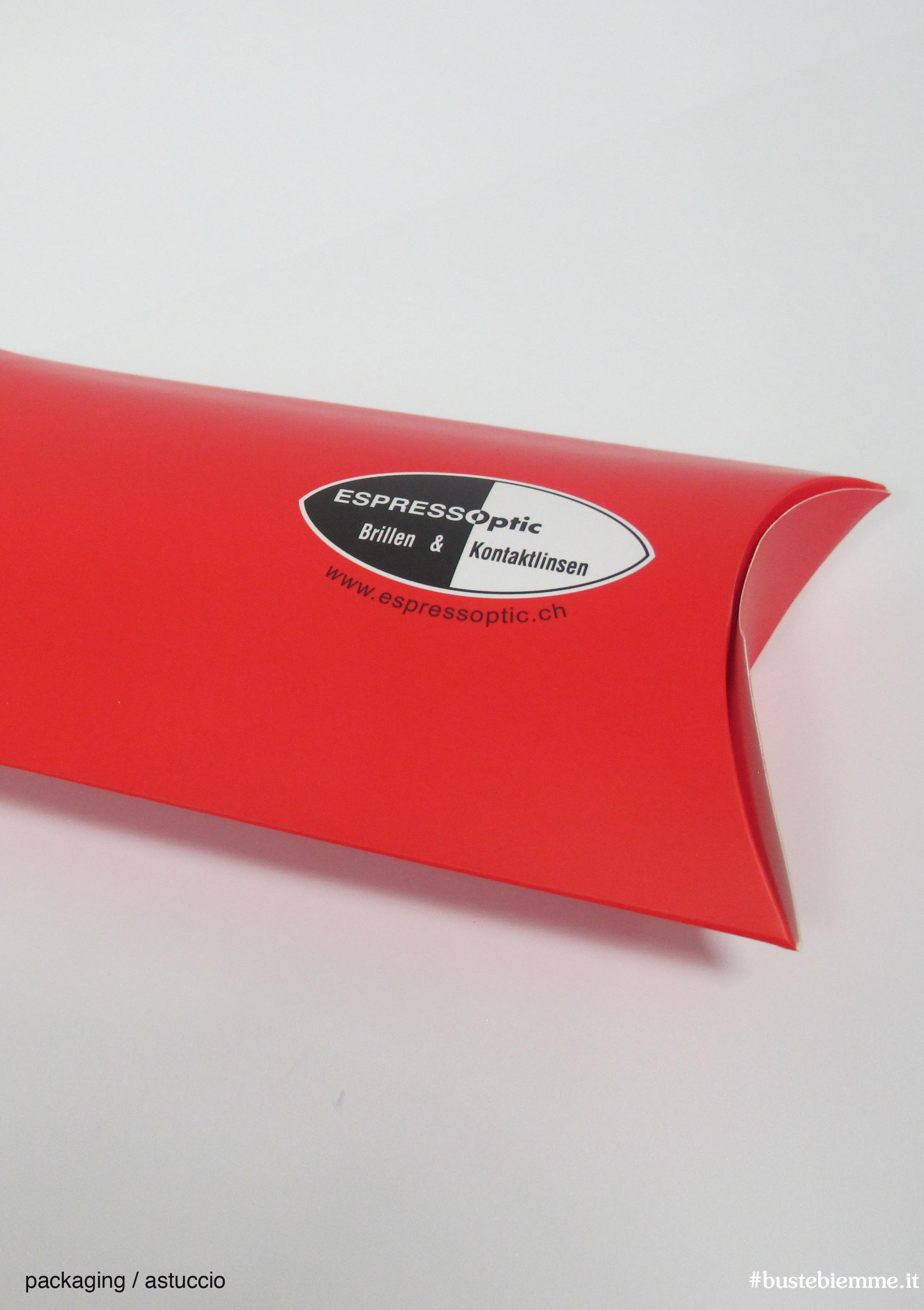 astuccio ovale cartoncino colorata personalizzato