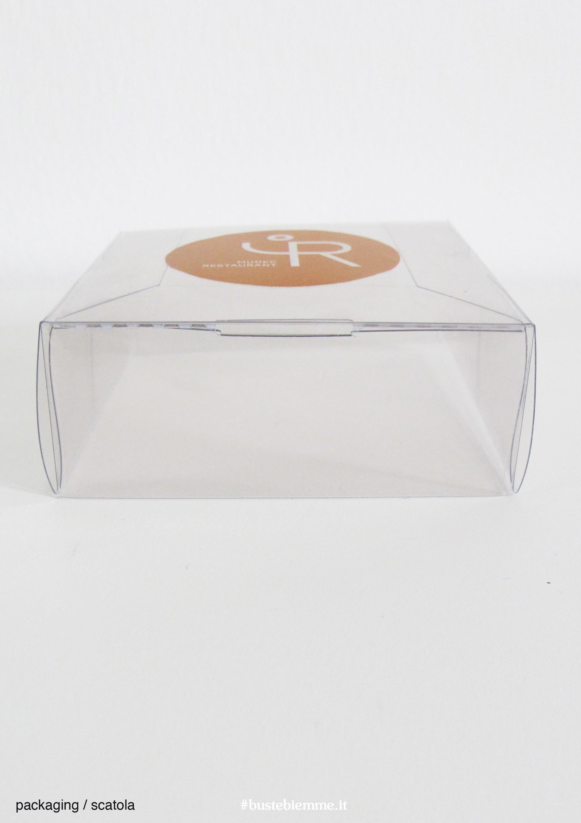 scatola automontante in plastica personalizzata