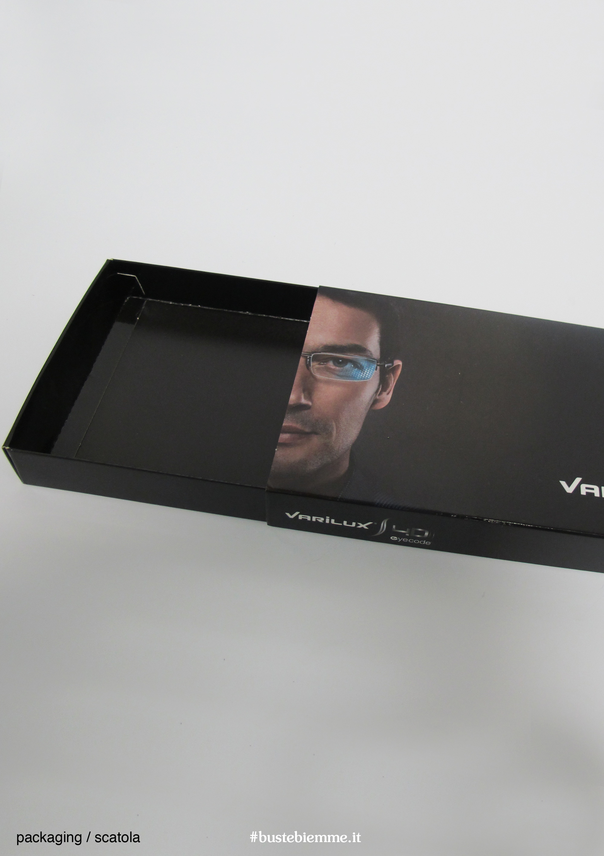 scatola automontante personalizzata apertura a fiammifero