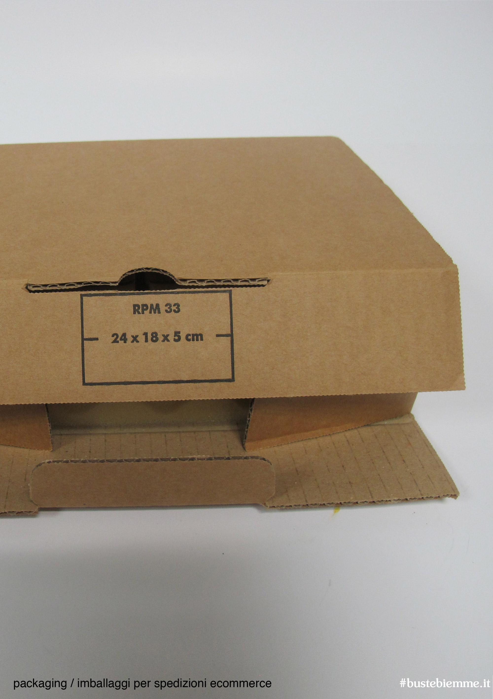 imballaggi specifici per spedizioni e-commerce