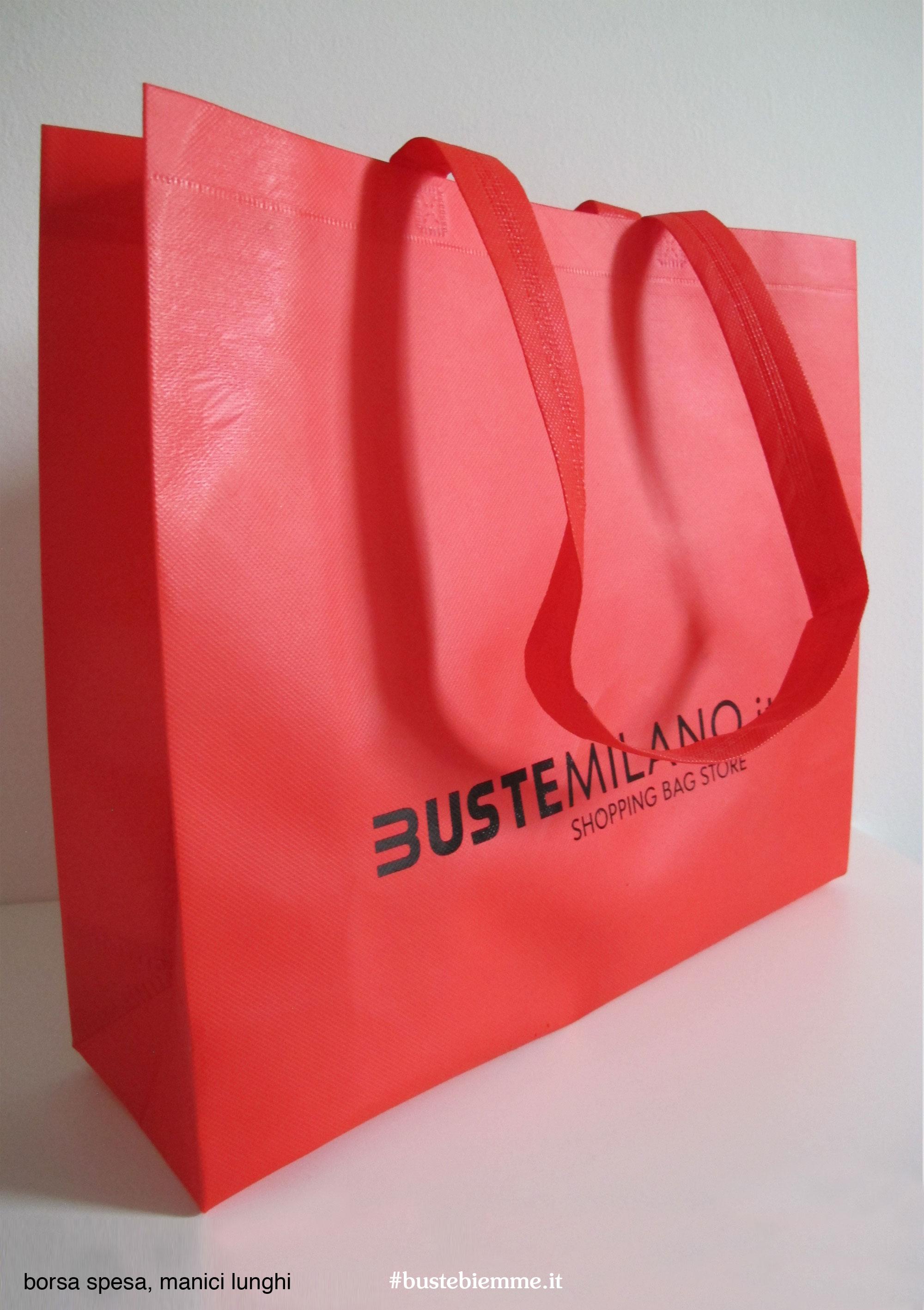 borsa per la spesa in materiale resistente lavabile e riutilizzabile