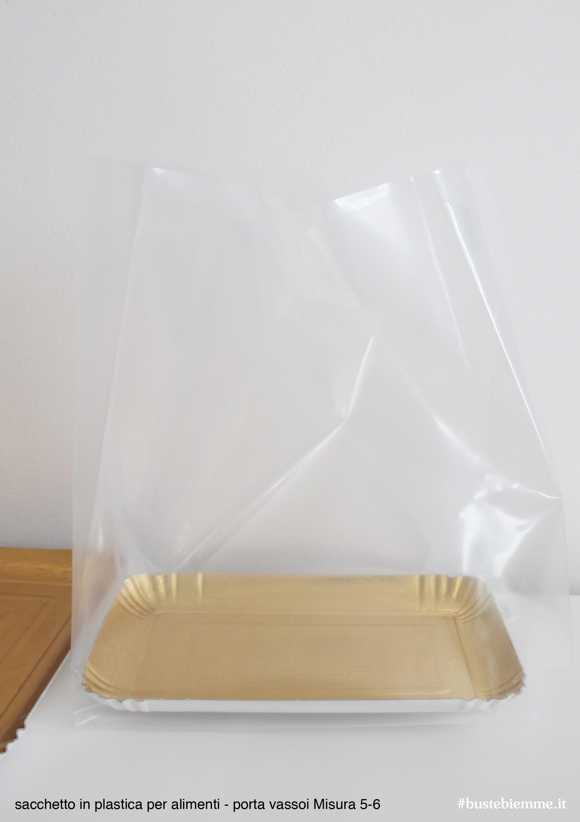 sacchetto in plastica per mistura vassoio 5-6