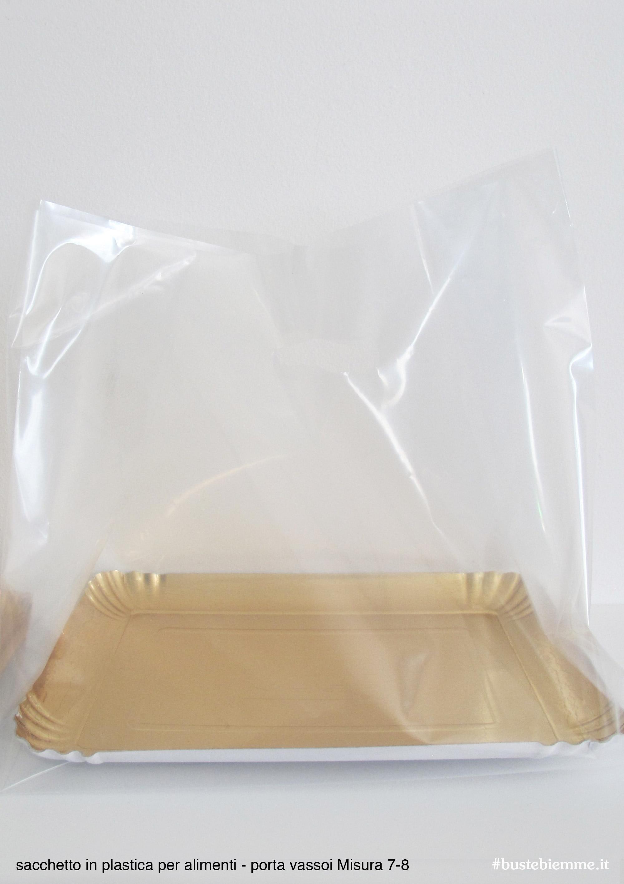 sacchetto in plastica per mistura vassoio 7-8