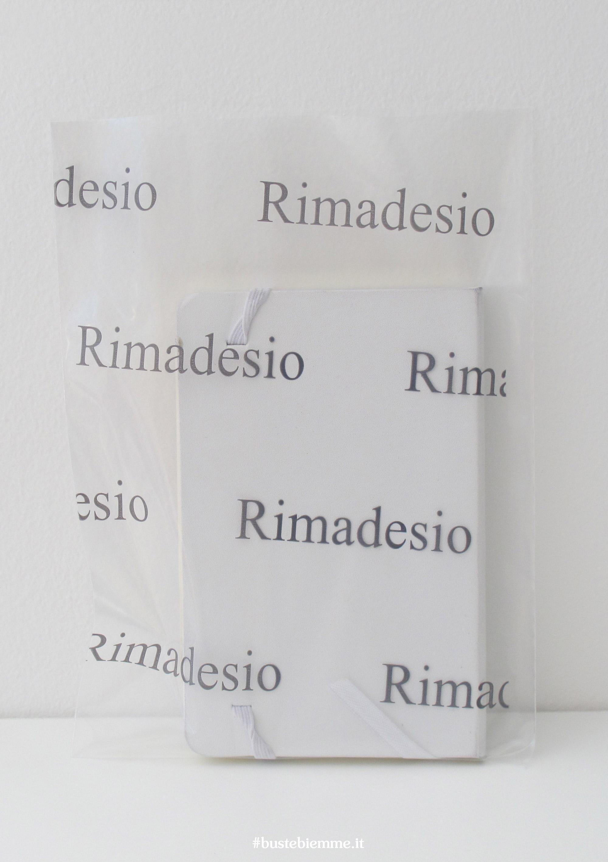 sacchetto in plastica trasparente senza maniglia