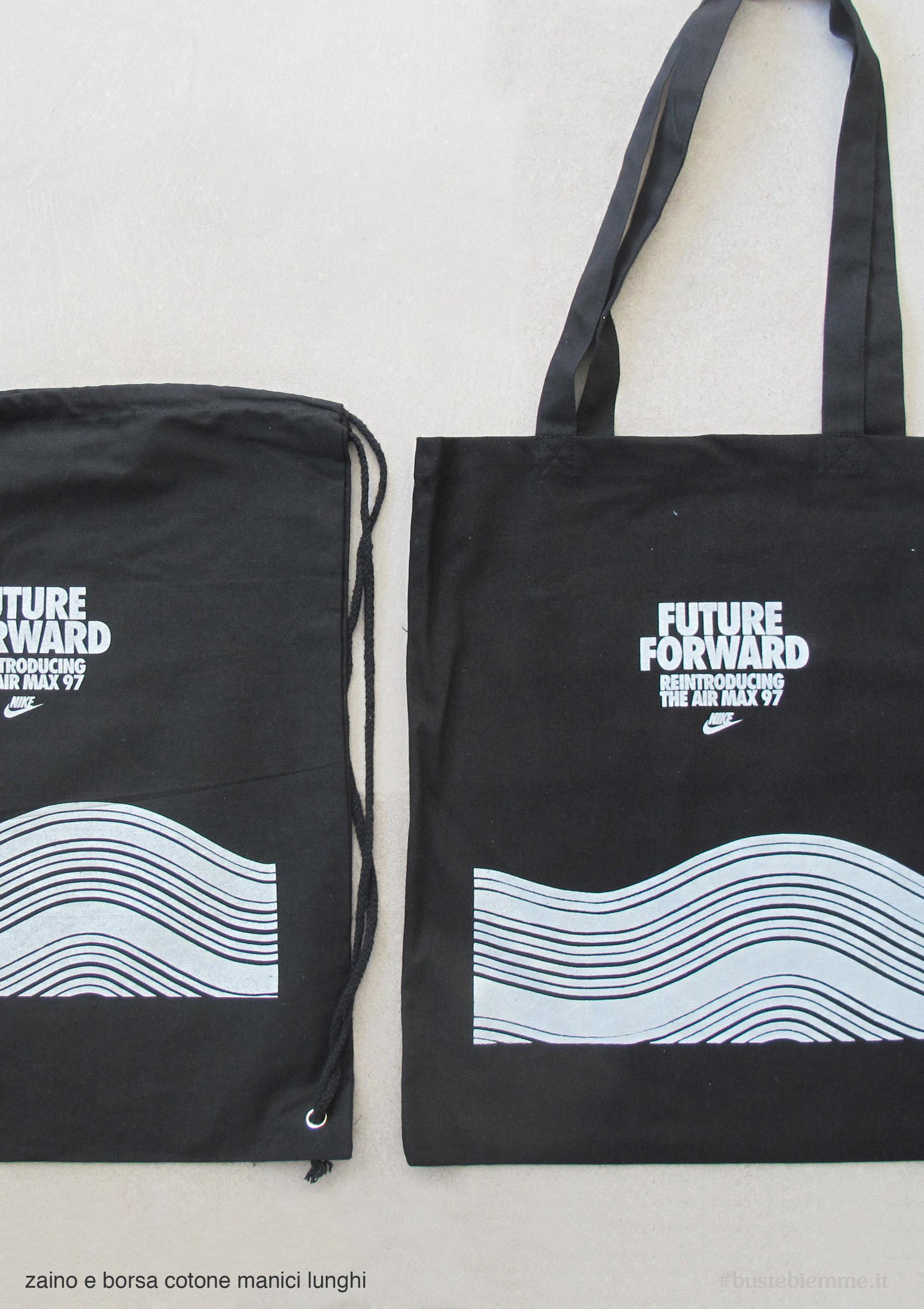 borsa e sacca in Cotone colorato personalizzata