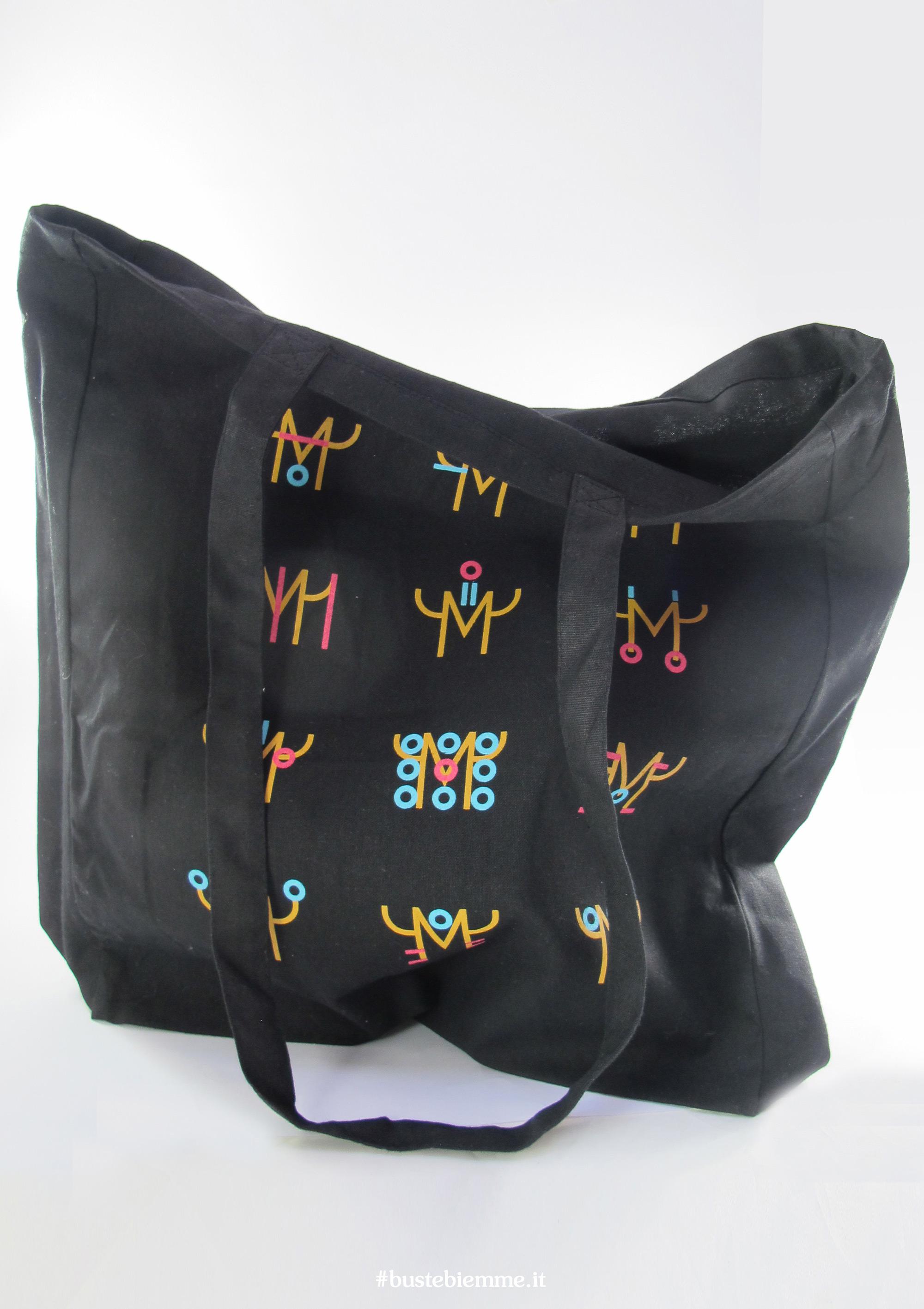 borsa in Cotone colorato personalizzata