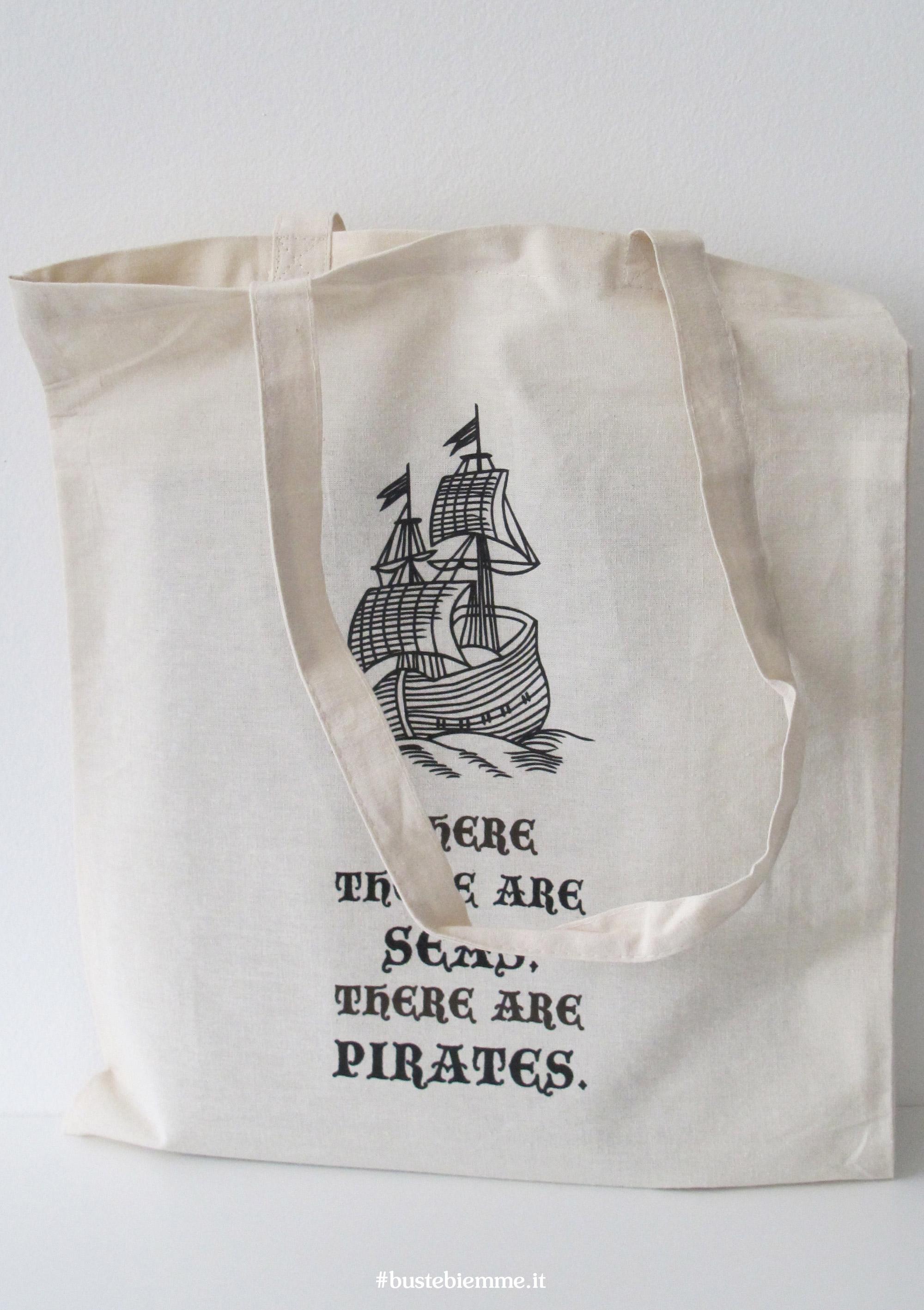 borsa in Cotone naturale personalizzata