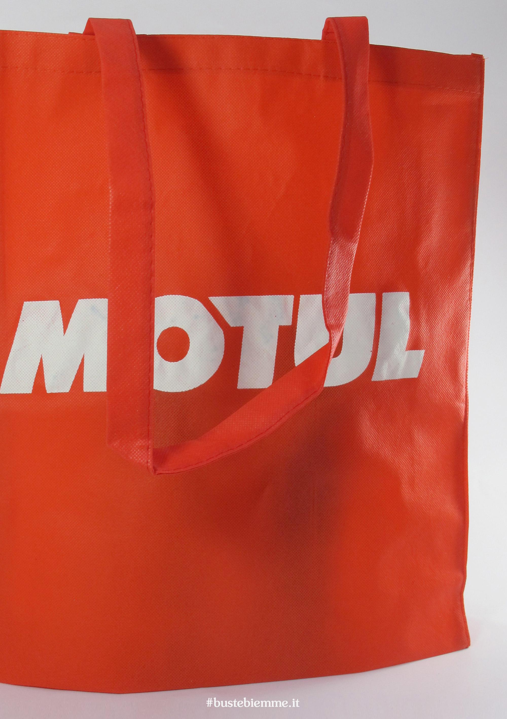 shopper colorati inTNT 80g/mq formato grande senza soffietti