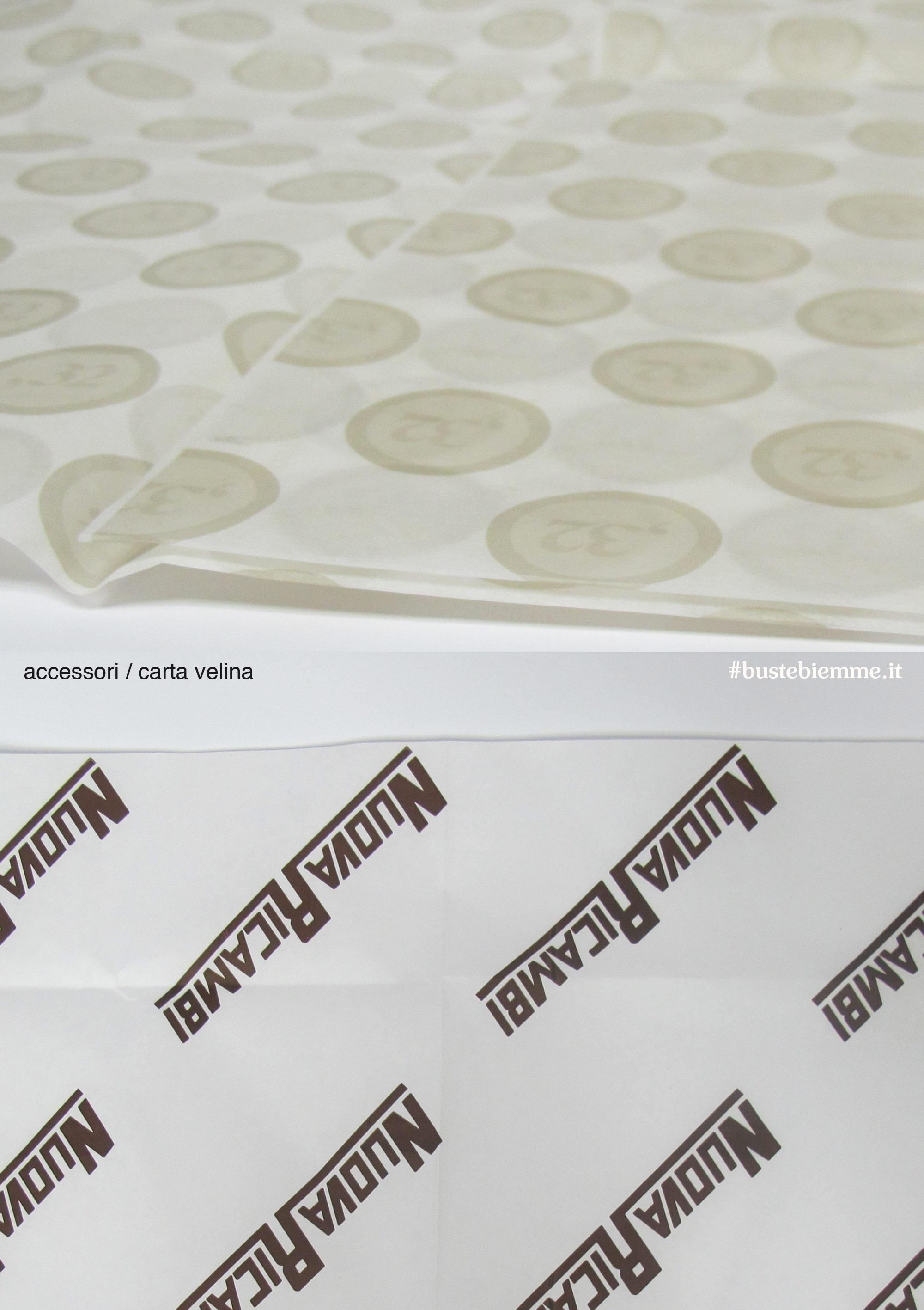 carta velina personalizzata con texture ripetuta