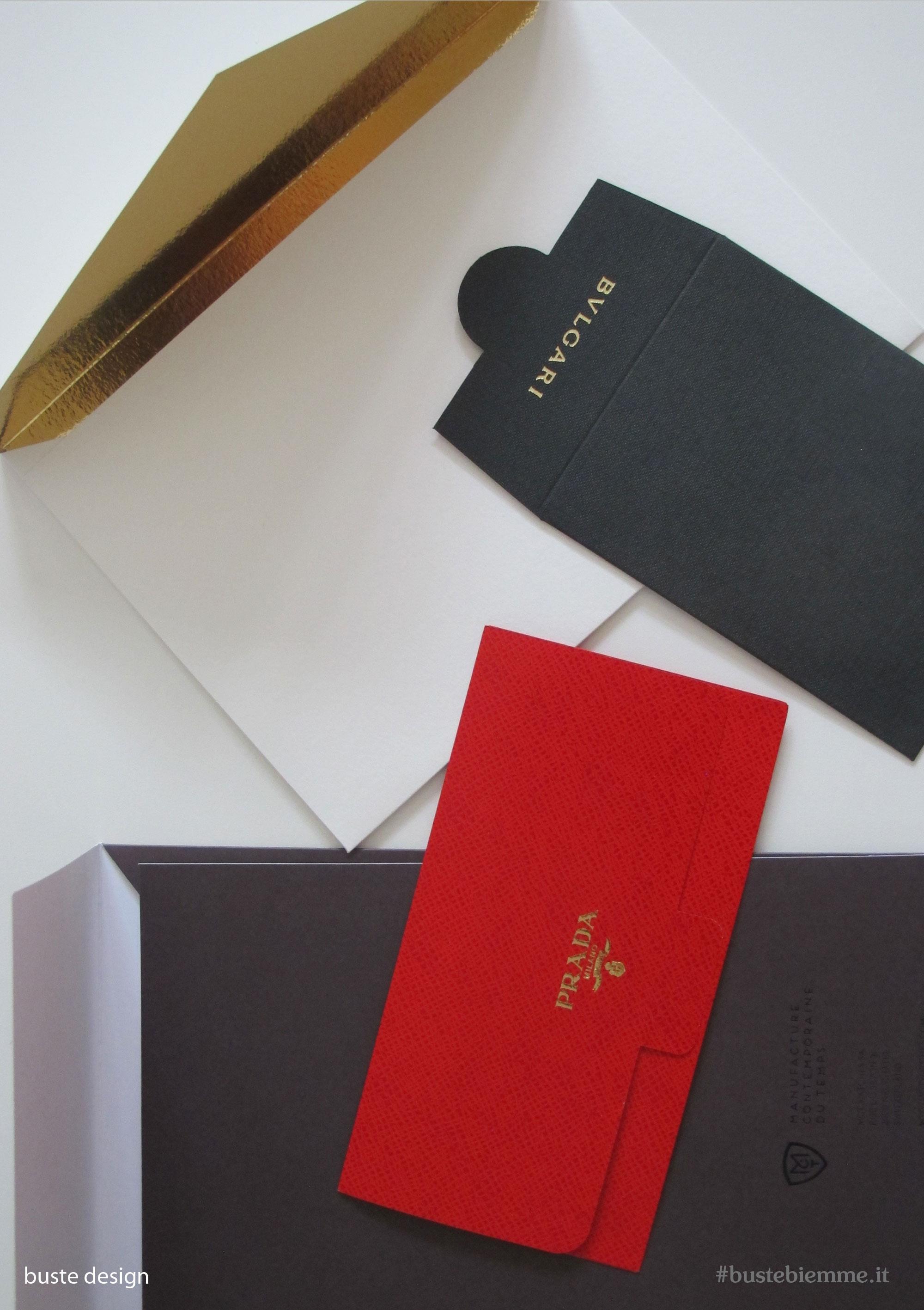 carta goffrata, accoppiata, e effetto pelle per buste design