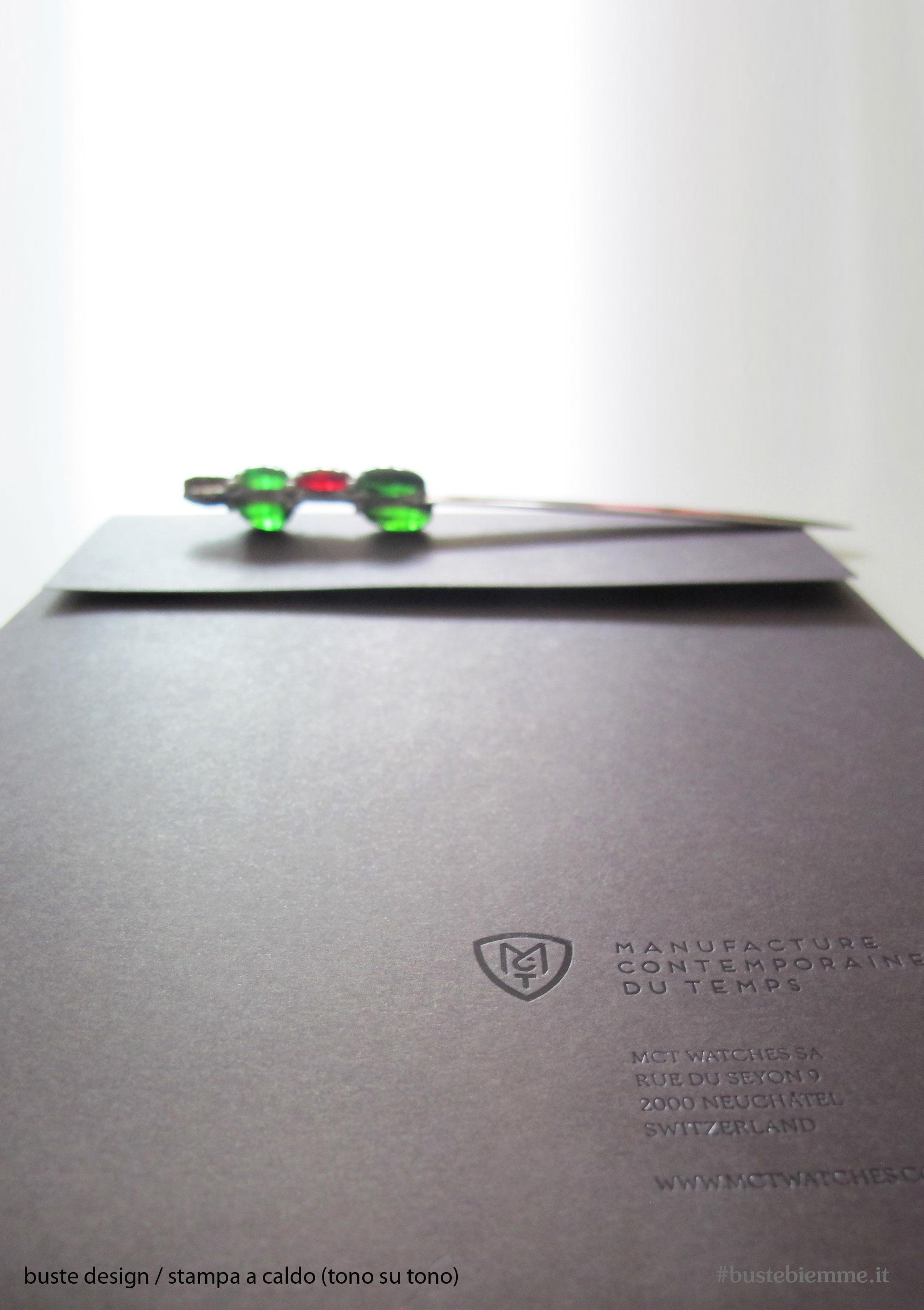 busta design con incisione laser