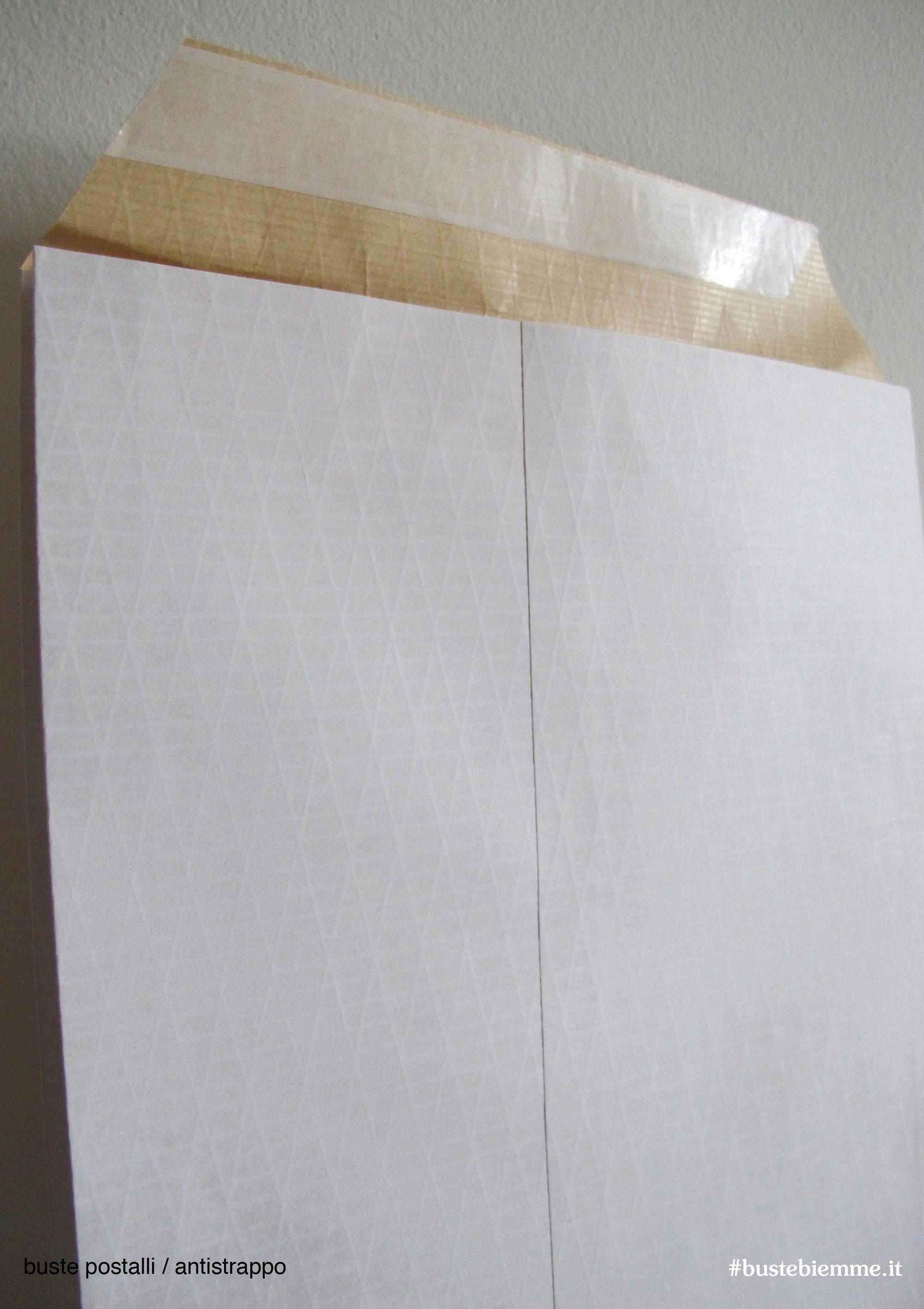 busta antistrapppo con soffietti laterali e trame di nylon