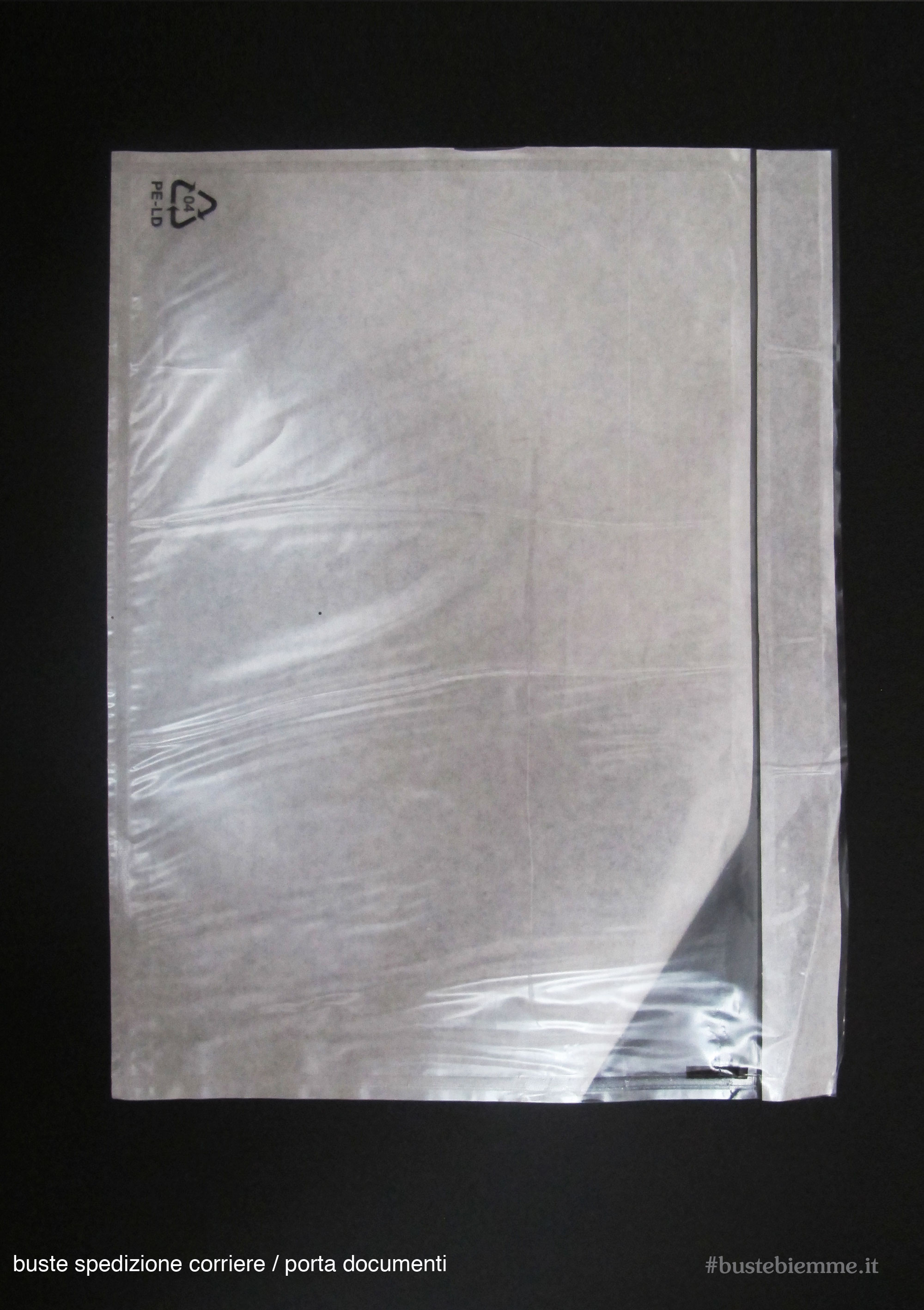 busta portadocumenti impermeabile per spedizione con corriere