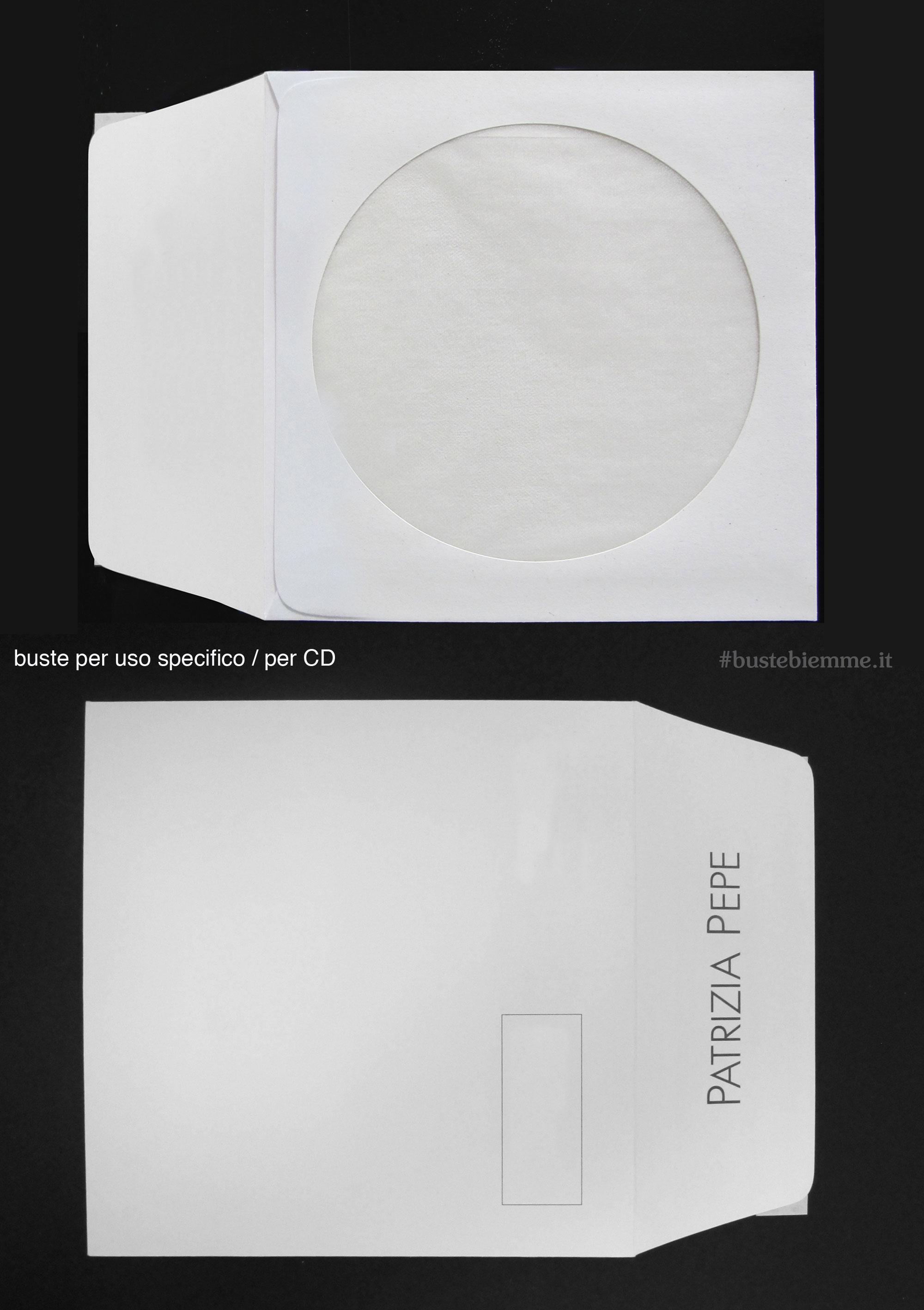 Busta in carta porta Cd personalizzata
