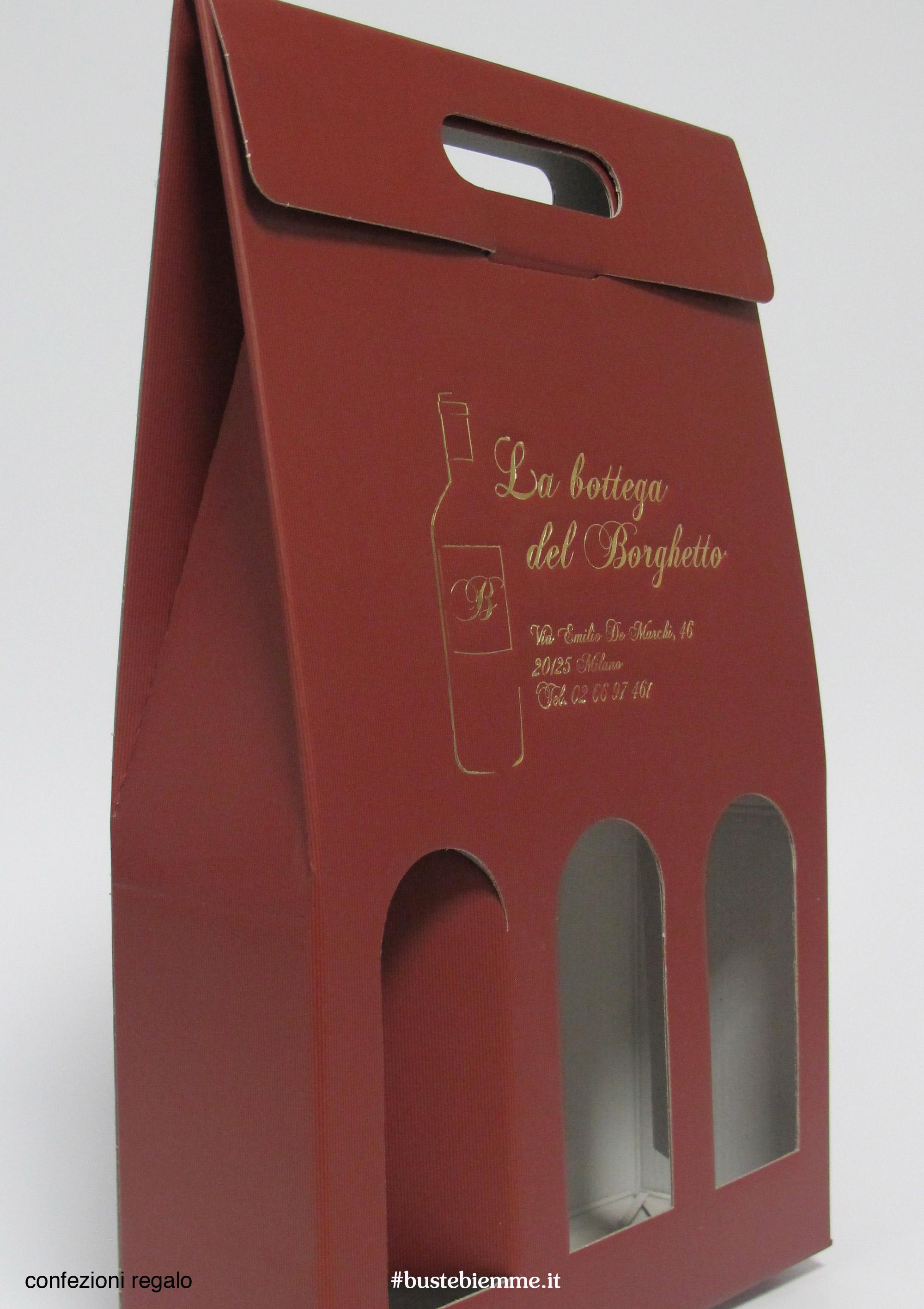 scatola porta bottiglie microonda accoppiata con finestre e maniglia