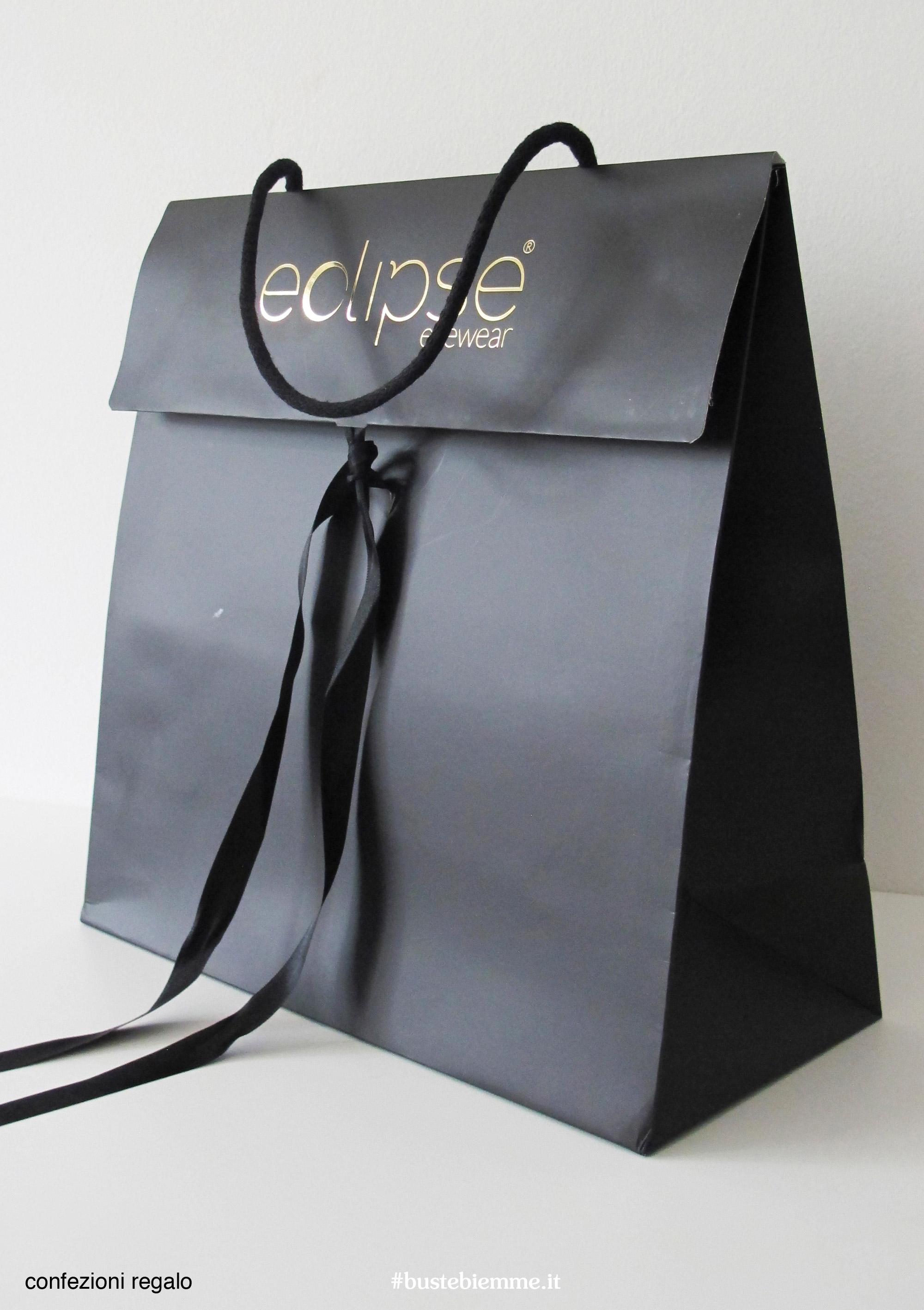 confezione regalo a forma di shopping bag personalizzati