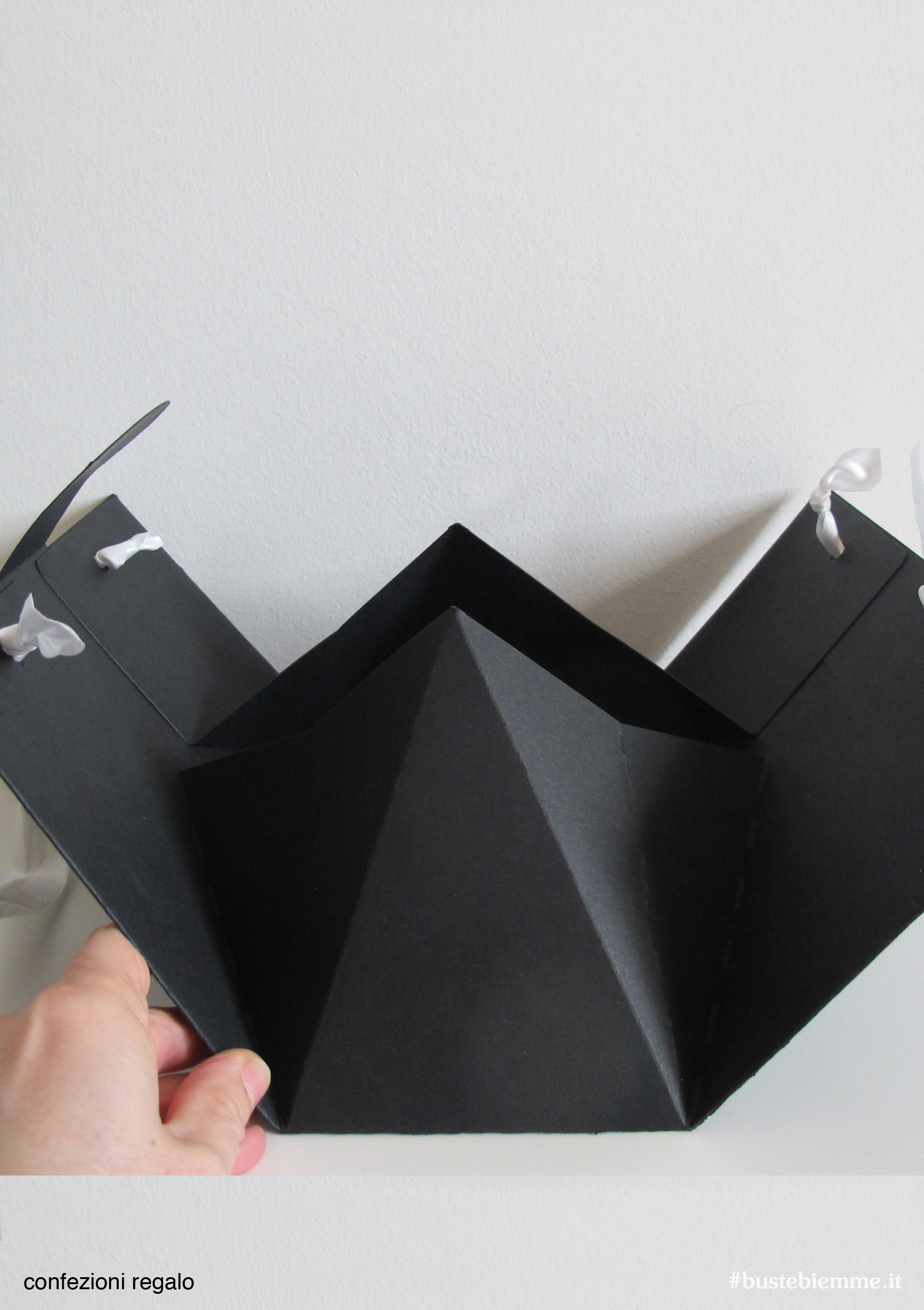shopper confezione regalo automontante personalizzabile