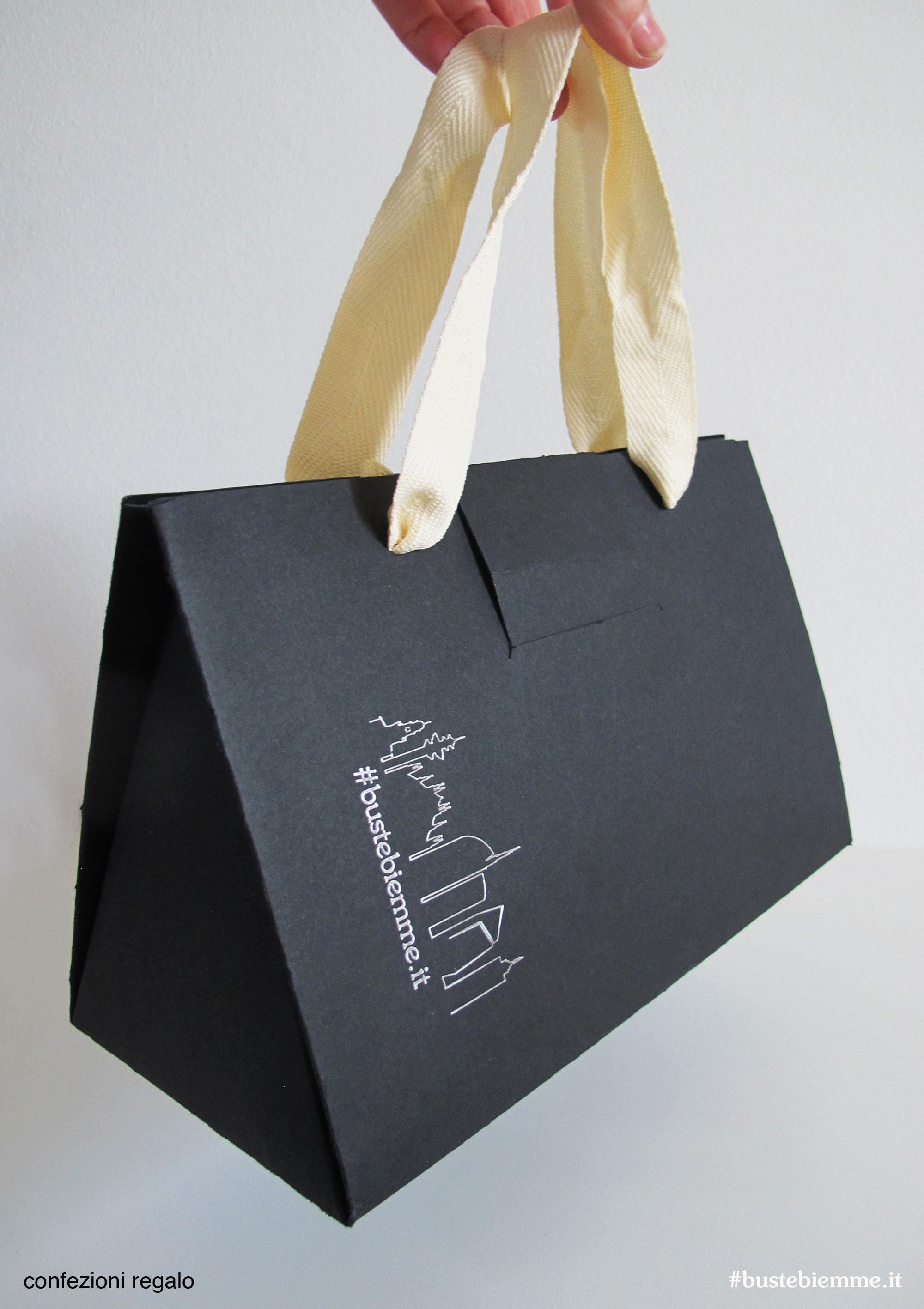 shopper confezione regalo automontante